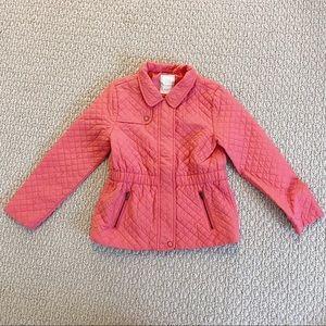 Gymboree Pink Quilted Windbreaker Jacket